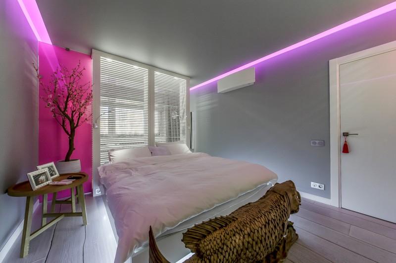 Оформление квартиры светодиодной лентой фото